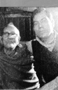 ছবি - মানিক লাল ঘোষ এবং বাবা স্বর্গীয় ঠাকুর দাস ঘোষ